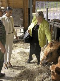 """Die Landwirtschaft und der ländliche Raum Südbadens sind """"für mich ein Traumjob"""", sagt Kordula Kovac."""