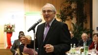 Dr. Florian Schuller hielt ein