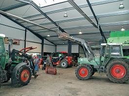 2010 hat Familie Rehnen den Betrieb in Wippingen neu gebaut.