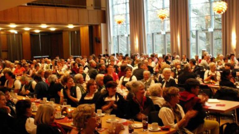 Die Zuhörerinnen und Zuhörer waren begeistert von dem Nachmittag in Bad Aibling.