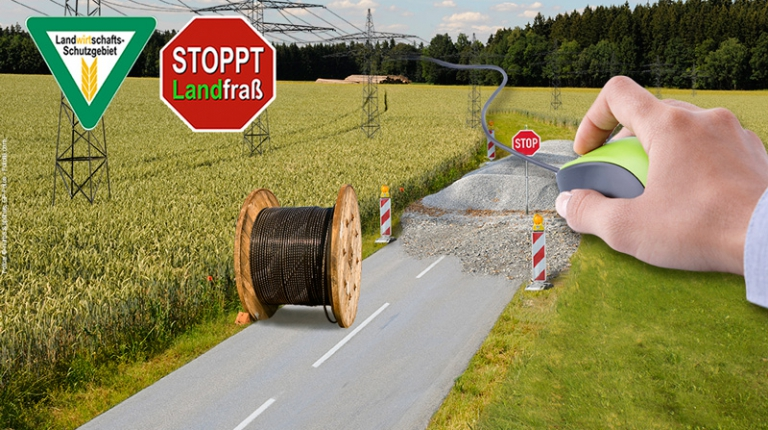 Mitgemacht haben allein in Bayern 50.000 - per Unterschriftenliste und Mausklick.