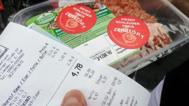In den Superm�rkten tobt derzeit ein irrsinniger Verdr�ngungswettbewerb.