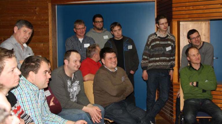 Die Teilnehmer der Herrschinger Jungunternehmertagung suchten gemeinsam nach Antworten auf grunds�tzliche Fragestellungen.