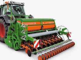 Die wichtigste Neuerung der 1 000er Baureihen der D9 ist das Roller Drill System RDS mit den neuen RoTeC-Control-Scharen und einem neuen Rollenstriegel.