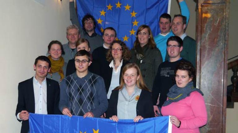 Die ArGe Landjugend setzt sich f�r die Beteiligung an der Europawahl ein.