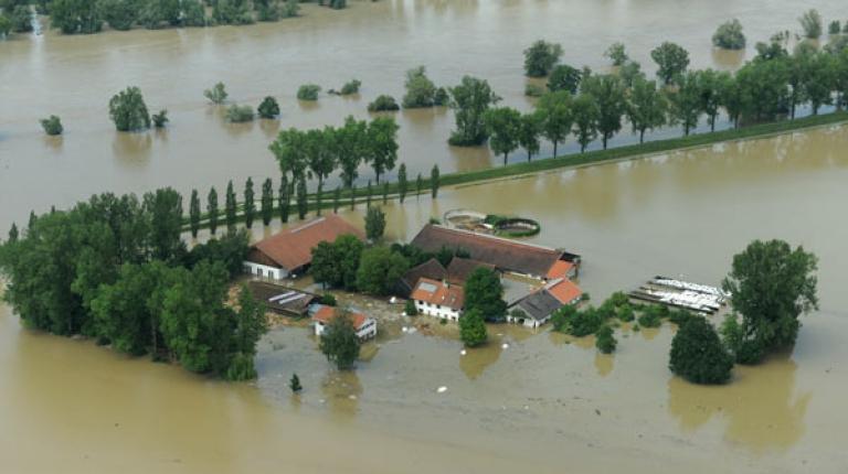 Der Bayerischer Bauernverband ruft zu Hilfe und Spenden f�r Hochwassergesch�digte auf.