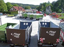 Der Fachhändler Graf im oberfränkischen Pegnitz konzentriert sich auf den Vertrieb der Fliegl-Technik.