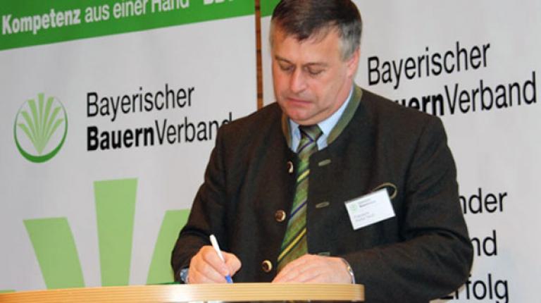 Auch BBV-Präsident Walter Heidl hat bereits unterschrieben - wann sind Sie dabei?