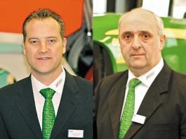 Aleander Bruns (links)  und Ignatz Kuhlmann REBO-Geschäftsführer