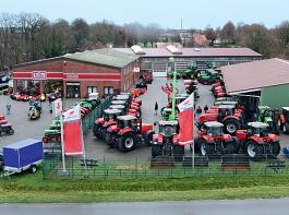 Das Firmengelände der Firma Fricke Tobaben in Harsefeld.