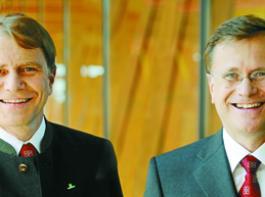 Dipl.-Ing. Klaus Pöttinger und Mag. Heinz Pöttinger.