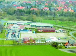 Der nördlichste Stützpunkt der Firma Pöttinger in Recke.