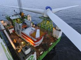 alpha ventus - Windpark in der Nordsee (Bild: REpower Systems AG_Jan Oelker)