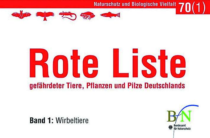 Rote Liste Tiere Deutschland