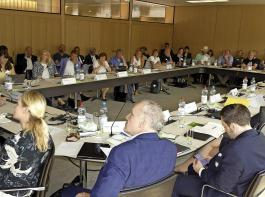 Die Anhörung im Stuttgarter Landtag war gut besucht.
