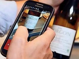 Zum Weinkenner werden per Smartphone-App mit Etiketterkennung
