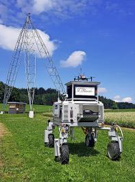 Feldroboter des Flourish -Projekts.