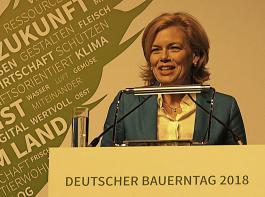 ... Bundeslandwirtschaftsministerin Julia Klöckner unterstrichen in Wiesbaden die Wichtigkeit der Gemeinsamen Agrarpolitik (GAP) für eine starke Europäische Union.