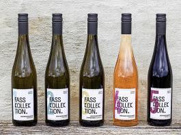 Fünf Weine umfasst die Fasskollektion.