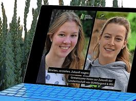 Kathrin Muus (BDL, links) und Myriam Rapior (BUNDjugend) haben gemeinsame Ziele definiert.