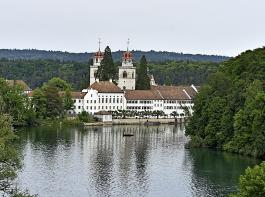 Die Wallfahrtskirche in Rheinau zählt zu den schönsten Barockkirchen der Schweiz.
