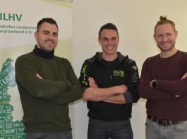 Drei der vier Hauptreferenten waren Yannick Wurth, Johannes Wehrle und Sebastian Wehrle (von links).