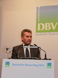 ... Günther Oettinger, EU-Kommissar für Energie, ...