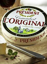 Den Camembert der Marke