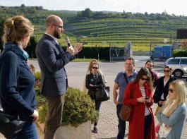 Die Genossenschaft Valpolicella Negrar empfängt gerne Besuchergruppen.