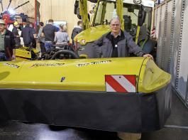 Das  Mähwerk Tornado eignet sich schon für Traktoren ab 40 PS.