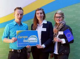Michael Vogelbacher, Melanie Mennicke und Charlotte Mark diskutierten in Berlin mit.