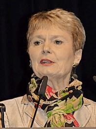 """""""Wir sollten solidarisch sein, vor allem im Außenauftritt"""": Staatssekretärin Friedlinde Gurr-Hirsch sieht darin einen der Schlüssel für eine erfolgreiche badische Weinwirtschaft."""