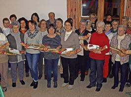 Zahlreiche Mitglieder, die dem Verein seit 1995 angehören, wurden beim Jubiläum der Landfrauen Nordrach geehrt.