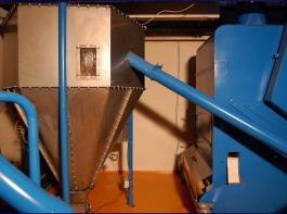 Bei der Toastanlage in Zeutern werden die Sojabohnen nicht nur getoastet, sondern auch entbittert.