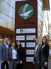 Das Team um Geschäftsführer Thomas Zwick von links: Harry Walliser, Marianne Walliser,  Désirée Kaiser und Mandy Kämmerich.