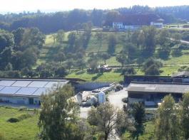 Der Hof der Familie Hupfer liegt in der Nähe der Schweizer Grenze.
