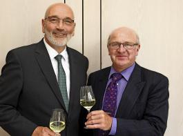 Der Name Schneider ist nun gleich doppelt im DWV-Präsidium vertreten: Klaus Schneider (links)  ist neuer Präsident, Kilian Schneider wurde zum  Vizepräsidenten gewählt.