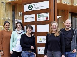 Das BBL-Team freut sich auf den ersten FSJ-ler (von links): Lena Mahler, Michaela Schöttner, Christina Mikuletz, Silvia Kaiser und Geschäftsführer Alexander Seibold.