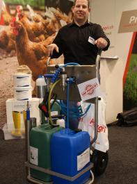 Der ProLiner erleichtert die Reinigung und Desinfektion.