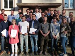 Die Absolventen der Fachschule für Landwirtschaft 2019