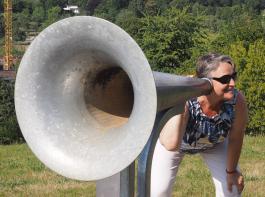Mit solch einem Riesenohr lässt sich Erstaunliches hören.