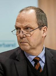 ... und Werner Schwarz (DBV) zu ihrer Arbeit in der Zukunftskommission Landwirtschaft.