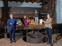 So wie hier in Meersburg freuten sich alle Weinorte über ihre neue Auszeichnung.