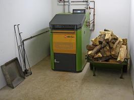 Auch Scheitholzvergaserkessel werden gefördert.