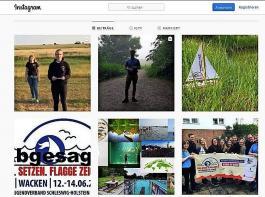 Der Land-jugendverband  Schleswig-Holstein hielt den Mini-Landjugendtag in Storys fest.