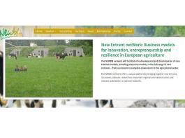 Die Internetseite informiert über das Netzwerk