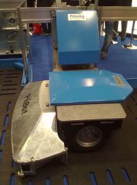 Der Pribot 100 der Firma Prinzing hat  eine maximale Schubkraft von 250kg.