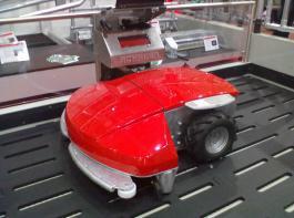 Der Enro  der Firma Schauer kann per Funkfernbedienung gesteuert werden.