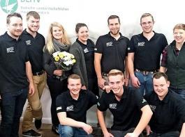 Der Vorstand (von links): Martin Bremgartner, Andreas Schwär, Charlotte Mark, Luca Hermann, Lisa Wehrle, Andreas Lorenz, Philipp Schlegel, Timo Manger, Max Walz und Anna Vogelbacher.