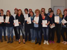 Die Hauswirtschafterinnen erhielten in Emmendingen ihre Abschlussurkunden.